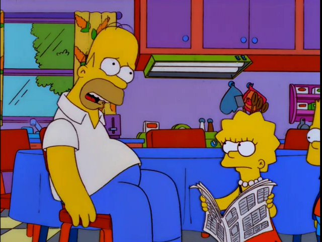 The Simpsons Botches The Relationship Between Homer And His Daughter In Make Room For Lisa The Andrew Blog